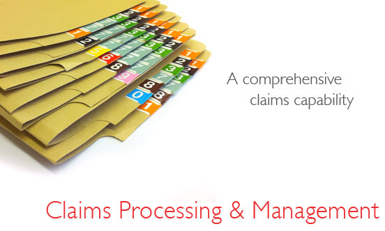 Claims Processing and Management